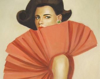 The Supreme Seymour Sister. Art Print