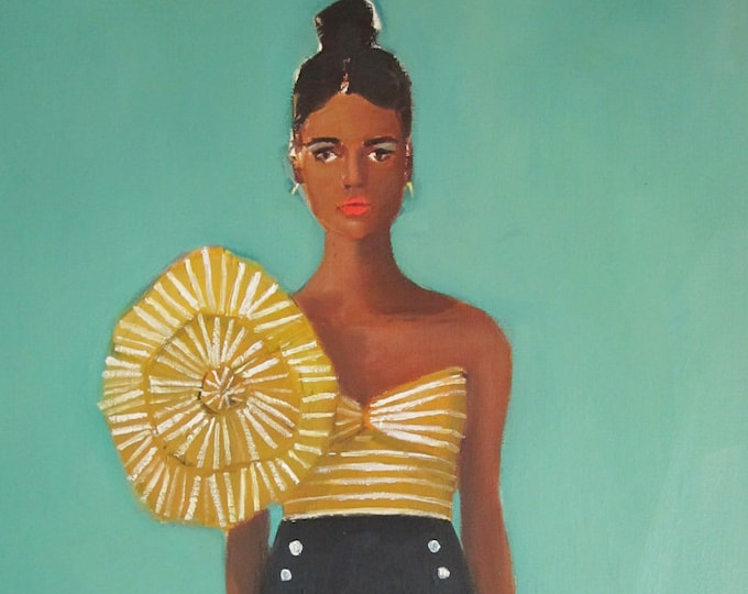Wendy. Fashion Illustration. Art Print.