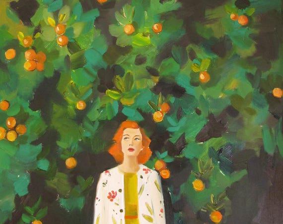 Lost In Miami. Art Print