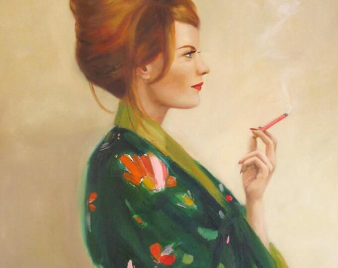 Pasadena Housewife.  Art Print