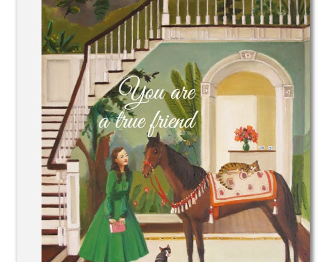 Featured listing image: You Are A True Friend Card. JH1175