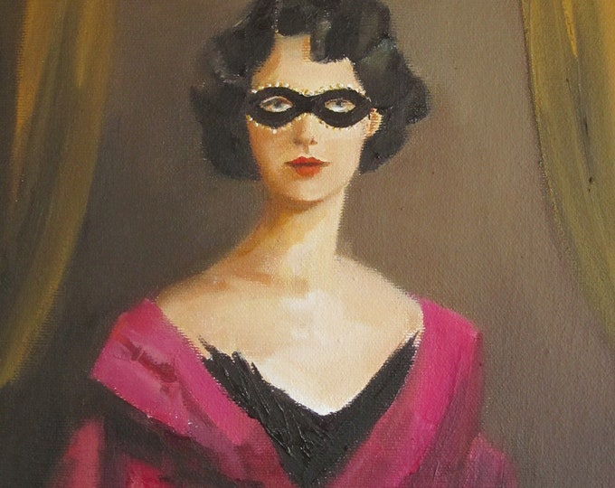 Robber Baroness. A Secret Sorority Portrait. Art Print