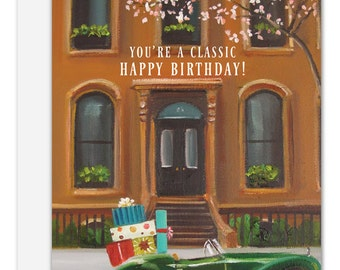 You're A Classic. Birthday Card. SKU JH1131