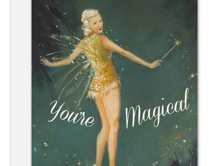 You're Magical. Greeting Card. SKU JH1139