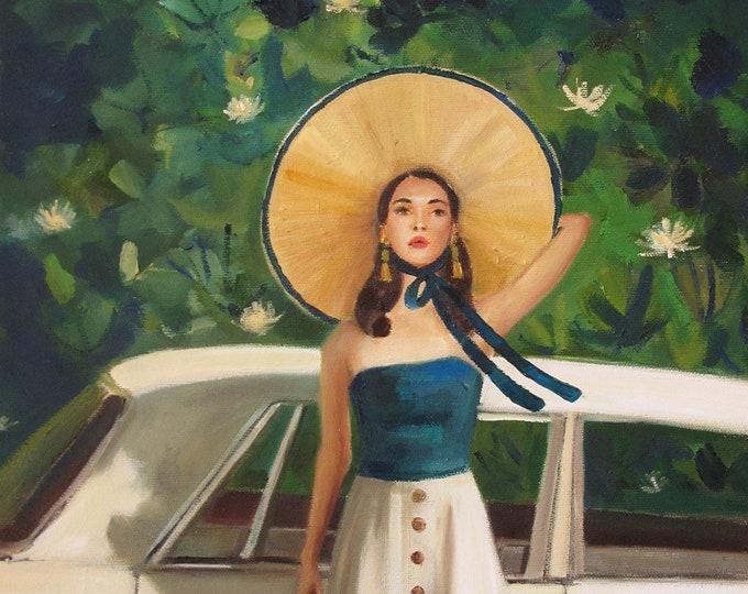 Mulholland Drive. Art Print