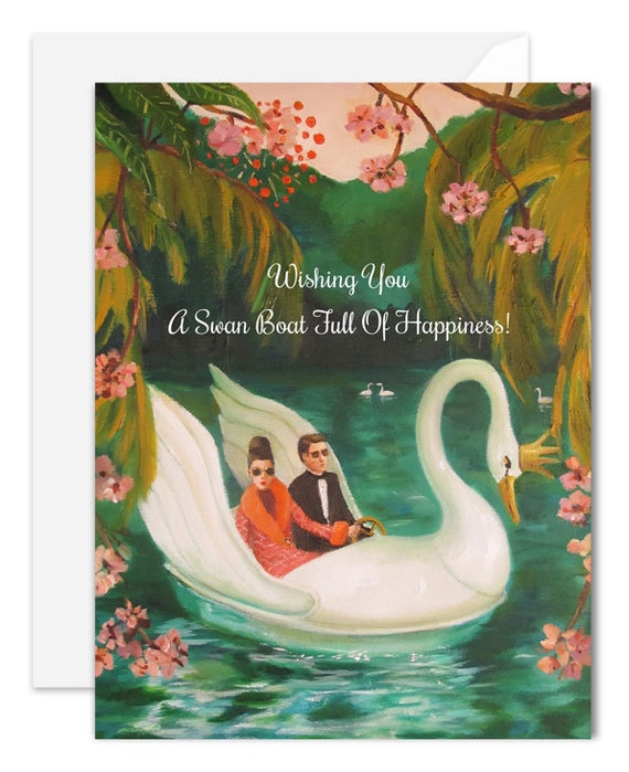 A Swan Boat Full Of Happiness. SKU JH1162