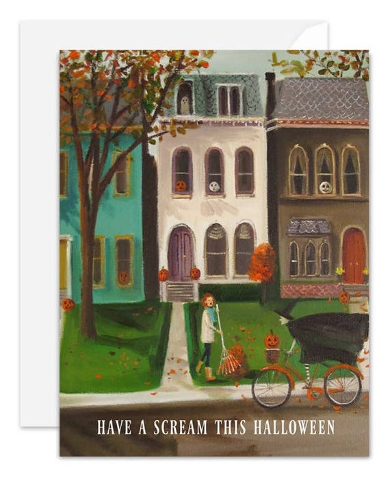 Have a scream this Halloween. Greeting Card. SKU JH1144