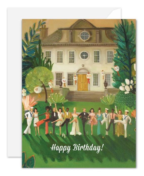 Whiskey Sour High Kick. Birthday Card. SKU JH1124