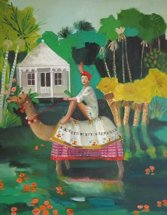 Marigolds. Art Print