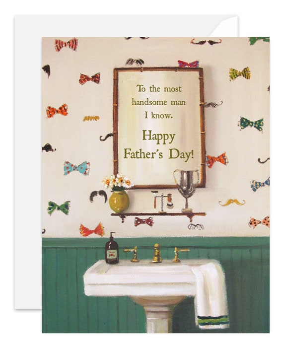 Handsome Dad Card. SKU JH1165