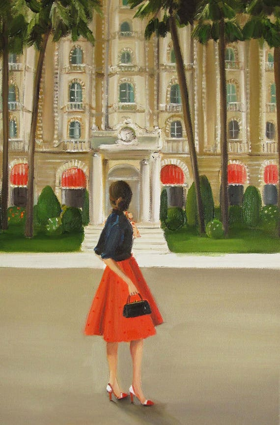 This Is The Place She Had Been Heading All Her Life. Art Print
