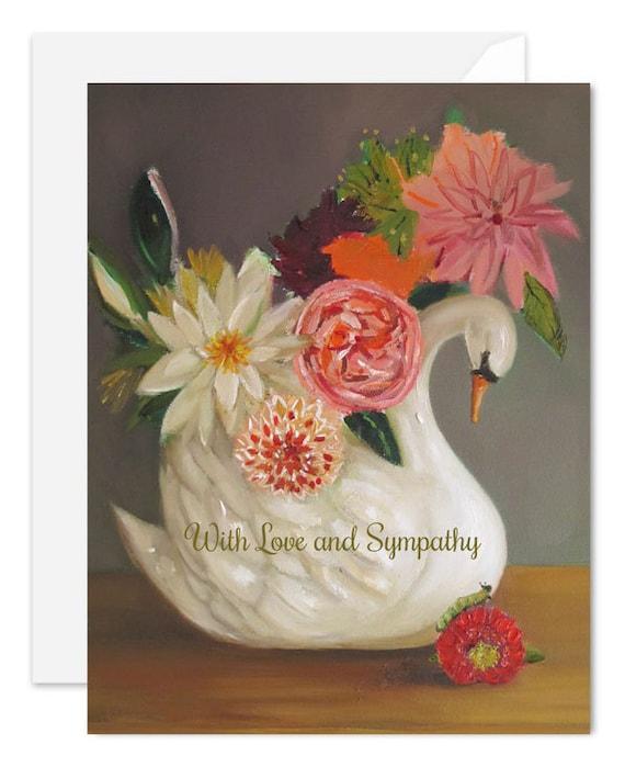 Love and Sympathy Swan. SKU JH1164