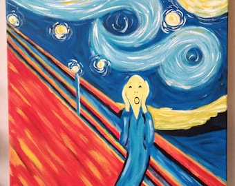 Screaming on a Starry Night