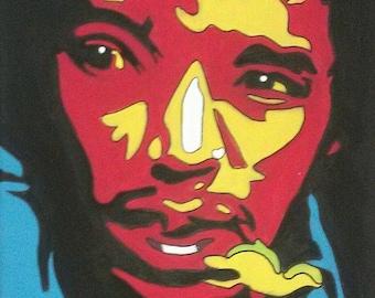 The Experience, Jimi Hendrix PRINT 8x10