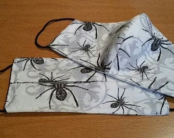 Face Mask Set - Spiders