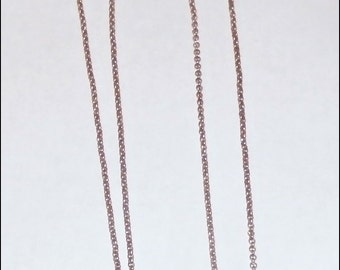 Rose Gold Plated Rolo Chain