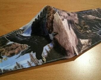 Face Mask - Southwestern Eagles in Flight