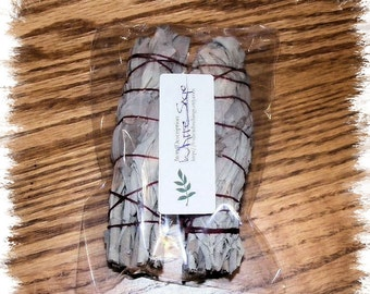Small White Sage Smudge Bundles - 2 Pack