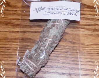 Dragon's Blood and Mountain Sage - Small Smudge Bundle