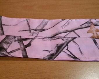 Face Mask - Pink Camo Fabric