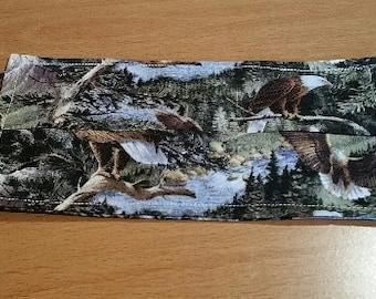 Face Mask - 100% Cotton - Eagle Mountain Fabric