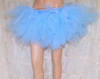 Baby Blue Pastel Trashy TuTu Skirt All Sizes MTCoffinz