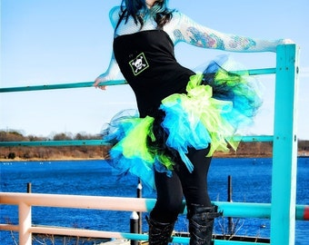Trashy Green Monster TuTu adult ALL SIZES MTCoffinz