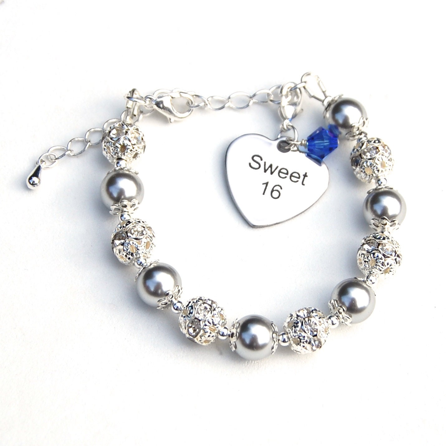 Sweet 16 Jewelry Sweet 16 Gift 16th Birthday Birthstone