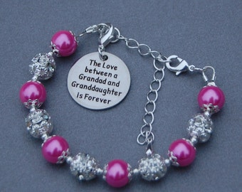 Granddaughter Gift, Granddaughter Jewelry, Granddaughter Bracelet, Granddaughter Birthday, Gift from Granddad