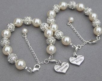 Mother of the Bride Bracelet, Mother of the Groom Bracelet, Mother of the Bride Gift, Mother of the Groom Present, Wedding Bracelets