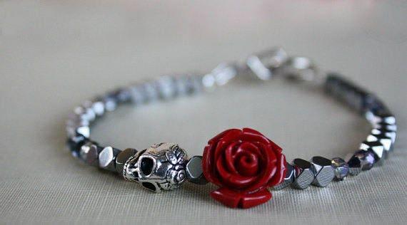 bracelet femme skull