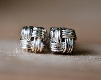 Wire Jewelry Tutorial -  Zhu.Studs, Wired Chinese Knot, DCH020, The Love Knot