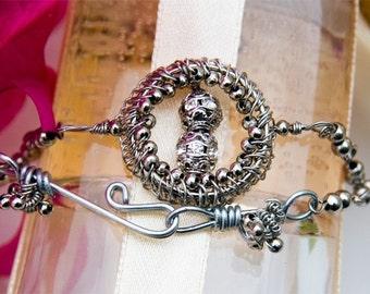 Wire Jewelry Tutorial - Skylark Bracelet, Wired Chinese Knot Jewelry Tutorial, DCH003, The Love Knot