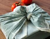 Silver-Grey GIVE CHEER (Reusable Fabric Gift Wrap)