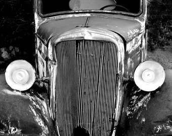 Vintage Cars Clipart Black and White Sepia PNG transparent