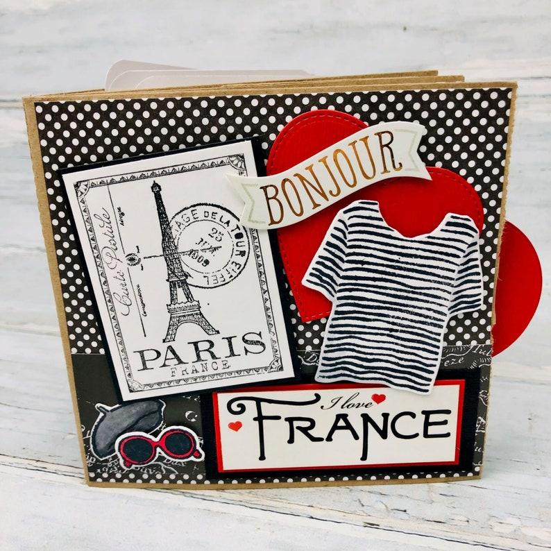 OOH LA LA 12x12 Cardstock Sticker Sheet PARIS FASHION Love POODLE