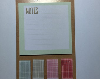 NEW Notepad and coordinating Page Flags