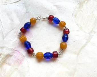 Tri-Color Armenian Flag Bracelet