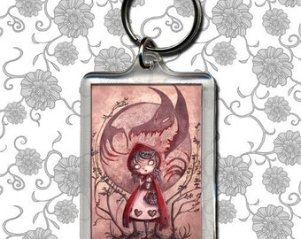 Little Red Riding Hood - porte-clé