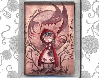 Little Red Riding Hood - aimant