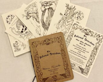 The Infernal Oraculum - demon deck, oracle