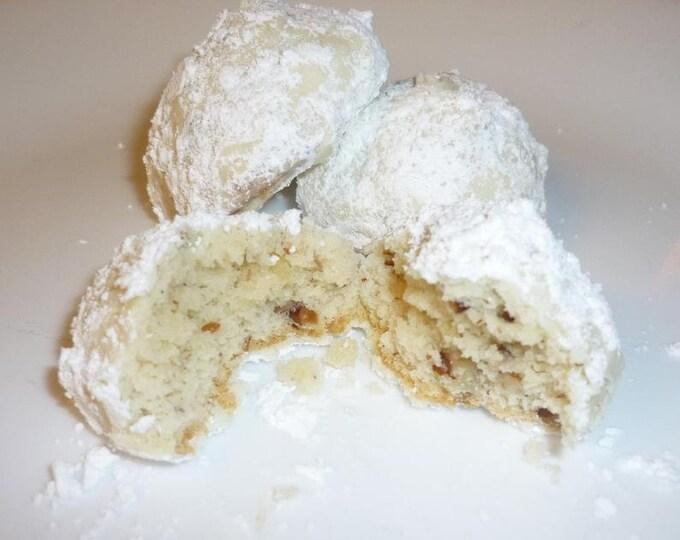Mexican Wedding Cookies/  Russian Tea Cookies/ Italian Wedding/Pecans/Almonds/ Nut Free