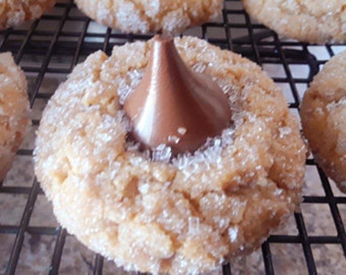 Peanut Butter kiss cookies/ 1 dozen/