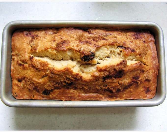 Snickerdoodle bread/Christmas bread /cinnamon and brown sugar / Choice of Size