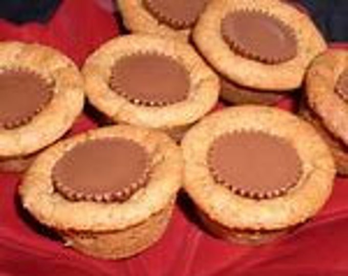 Peanut Butter Cup Cookie Tarts/ chocolate chips/ Food Gift/ Parties/get well gift/thank you