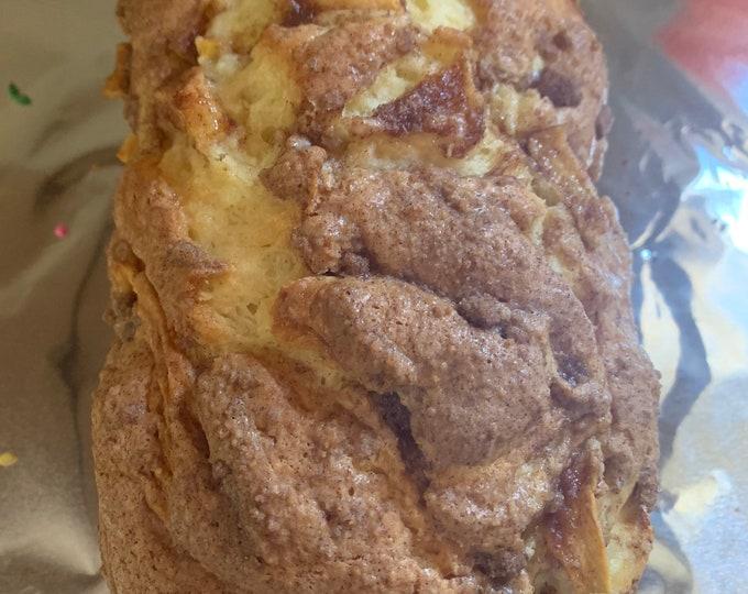 Apple Fritter Bread/ Fall dessert/ freezer safe / Apples/ Cinnamon / Best Seller