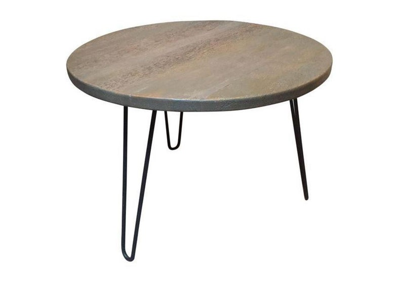 Distressed Gray Coffee Table.Distressed Gray Reclaimed Wood Side Table