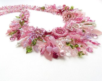 MADE TO ORDER Rose Garden Collar