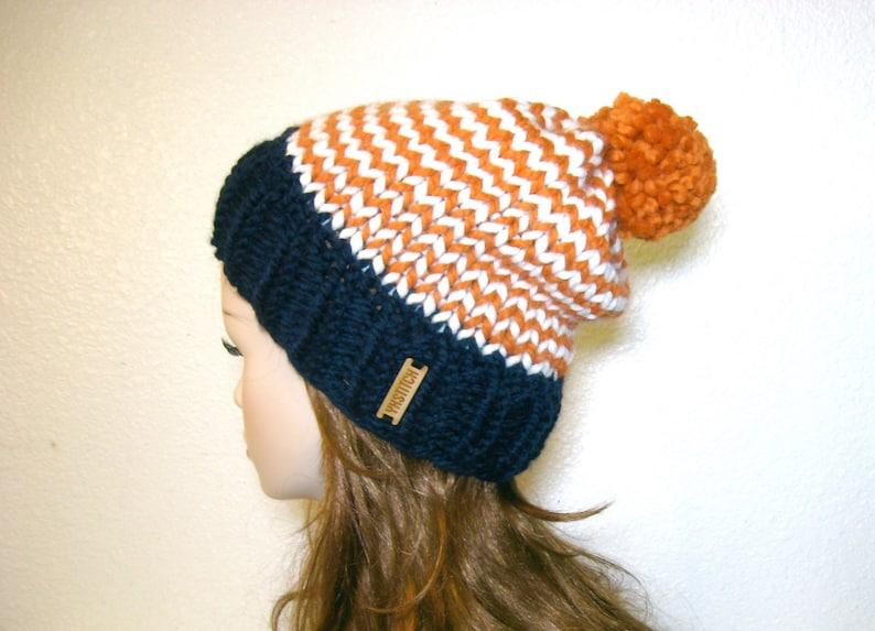ae4438a129f Denver Broncos Hat Knit Hat Women Knit Hat Denver Broncos