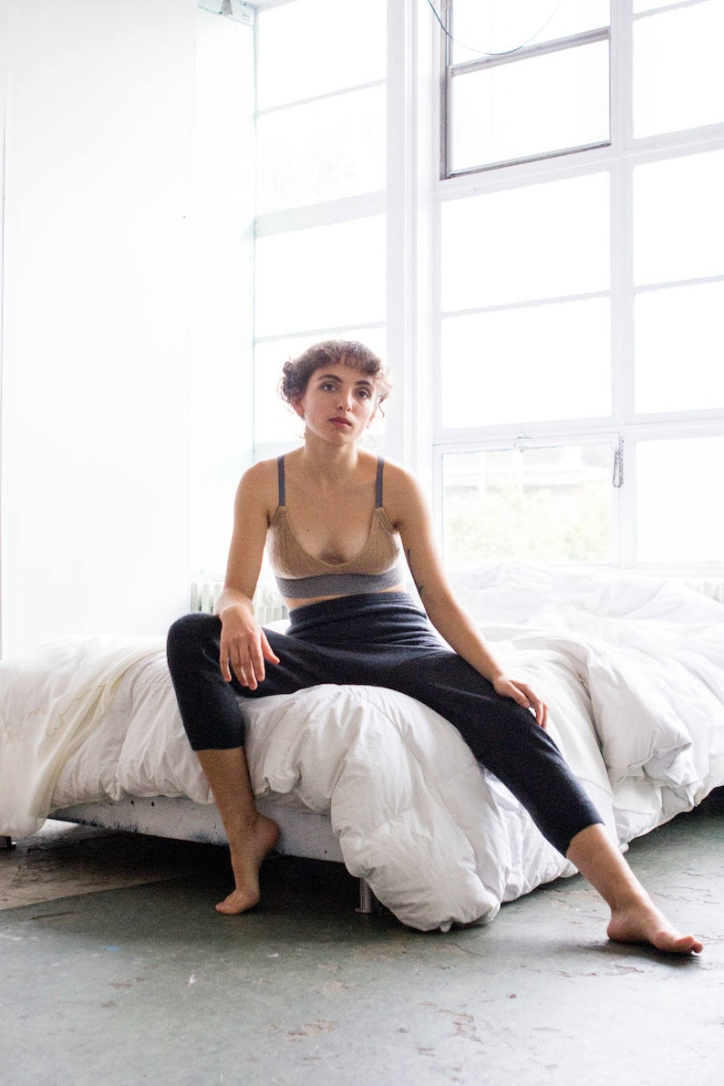 knickers upcycled cashmere merino wool crafted from fine knit image 0